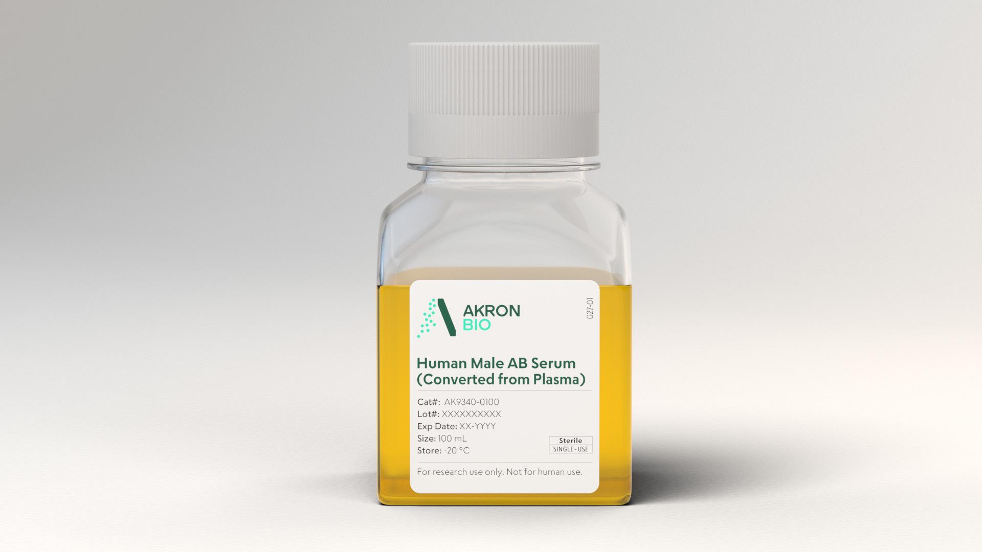 Human Male AB Serum Center